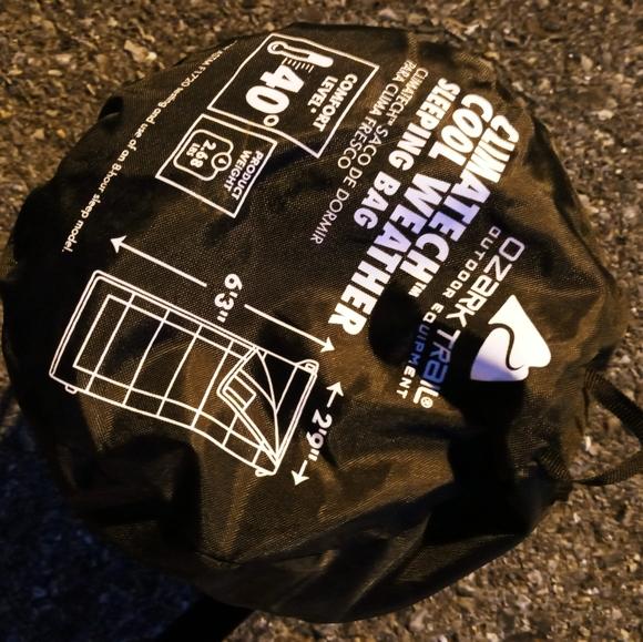 Ozark Trail Cool Weather Sleeping Bag